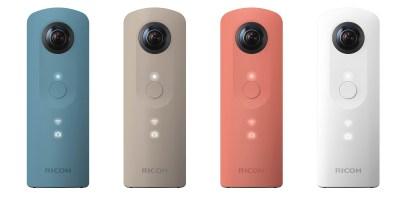 360-stopinjska mini kamera Ricoh Theta SC