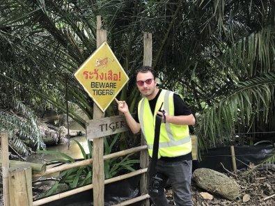 Nato v živalskem vrtu.