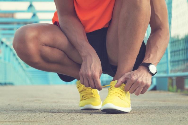 Po 400 pretečenih kilometrih zamenjajte tekaške čevlje. Tekači jih običajno obrabijo v enem letu.