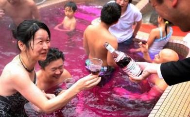 Spa center Yunesson Spa Resort – kopel v rdečem vinu