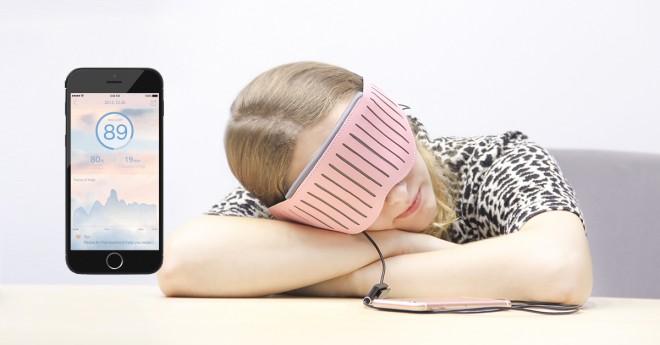 Maska Naptime vas bo zbudila ob optimalnem času