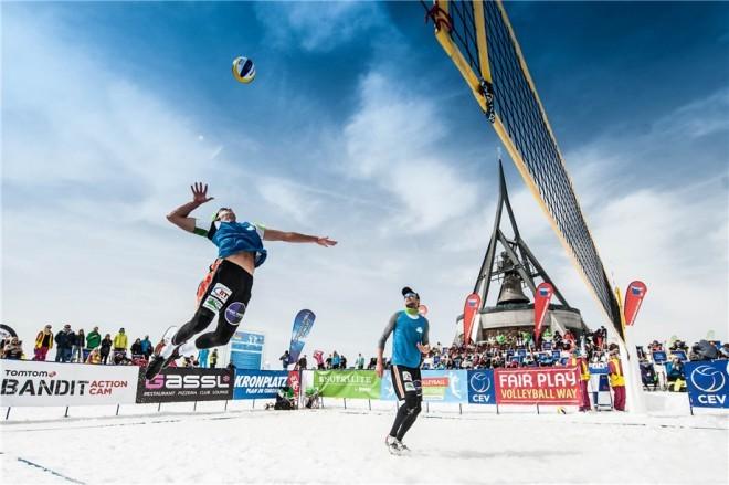 Kranjska Gora bo tudi letos gostila turnir odbojke na snegu.