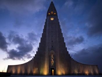 Hallgrímskirkja, Reykjavík (Islandija)