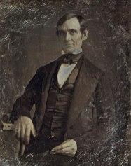 Abraham Lincoln v pozni tridesetih (prvi znani portret)