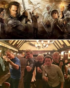 Lord of the Rings (Gospodar prstanov): 2001 vs. 2017