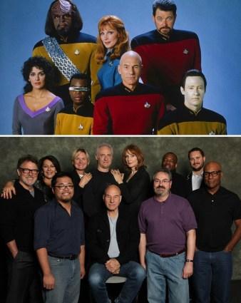 Star Trek: The Next Generation (Zvezdne steze: Naslednja generacija): 1987 vs. 2012