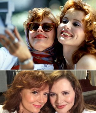About Thelma & Louise (Thelma in Louise): 1991 vs. 2014