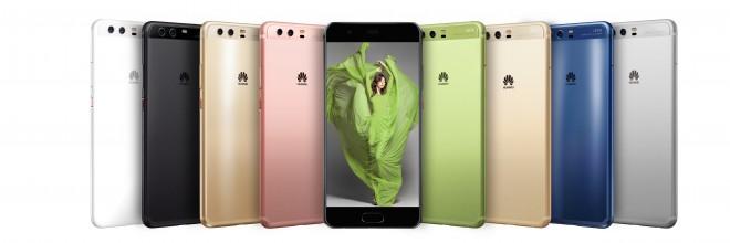 ''Petdeset odtenkov'' pametnega telefona Huawei P10.