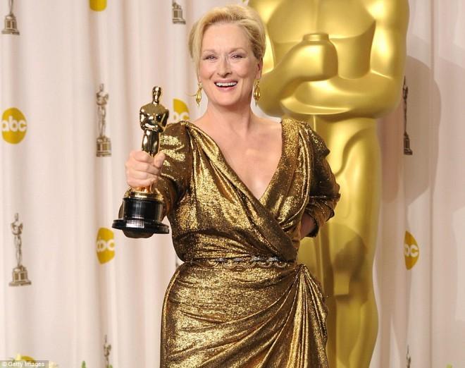 Meryl Streep je letos prejela že 20. nominacijo, do sedaj pa je osvojila dva oskarja.