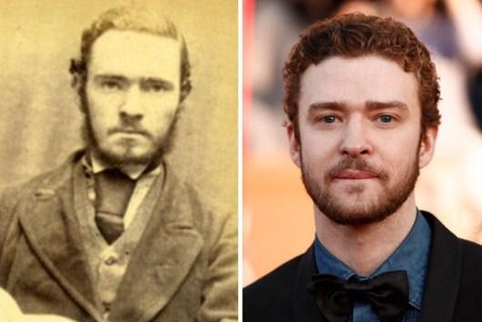 Rudar Charles Burns iz Liverpoola in Justin Timberlake