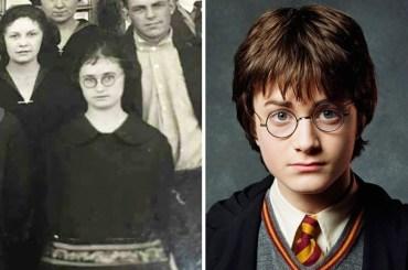 Stara teta in Harry Potter