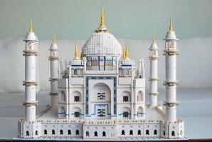 Tadž Mahal iz kock Lego vas bo stal nekoliko manj kot njegova originalna različica. Za set boste odšteli okoli 2.500 evrov.