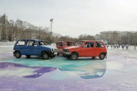 Curling po rusko