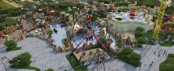 Fun Park Mirnovec bo prvi tematski zabaviščni park na Hrvaškem.