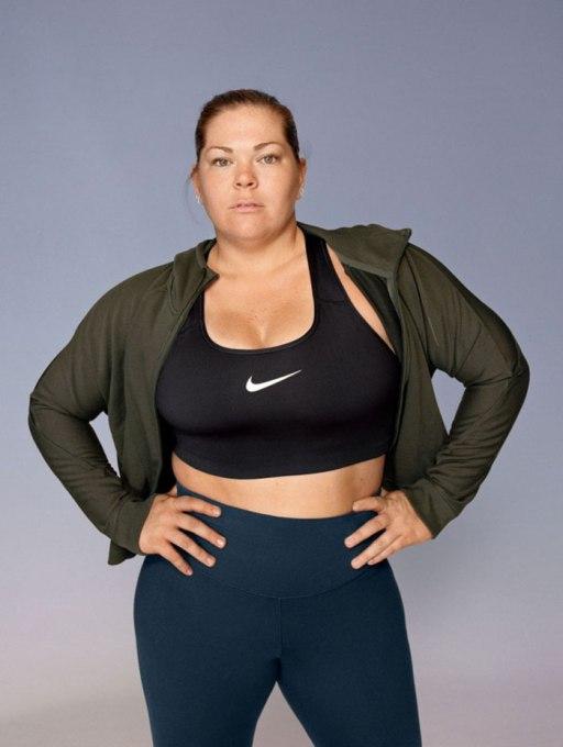 Iz Nikeove kolekcije športnih oblačil za močnejšo postavo