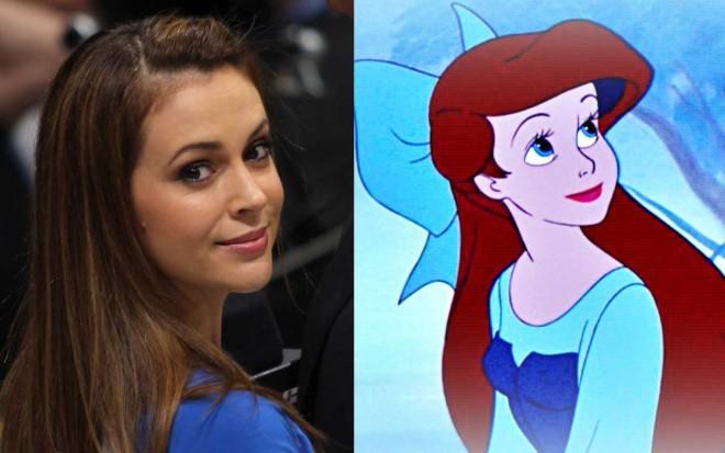 Alyssa Milano in Ariel