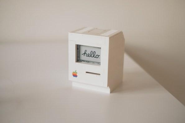 Lego replika računalnika Macintosh