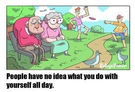 Ljudem se ne sanja, kaj počno ves dan.