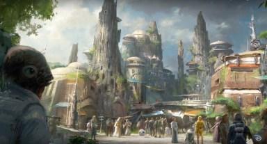 Zabaviščni park Star Wars Land