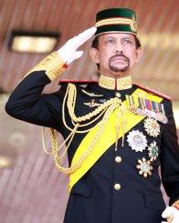 6. Brunejski kralj Hassanal Bolkiah