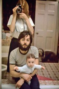 Linda, Paul in Mary McCartney, 1969