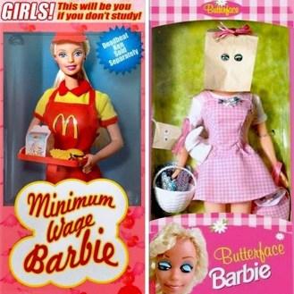 Barbie ne živi več v vili in ne pije več iz rožnatih kozarcev.