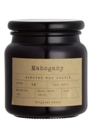 H&M: Sveča z vonjem mahagonija