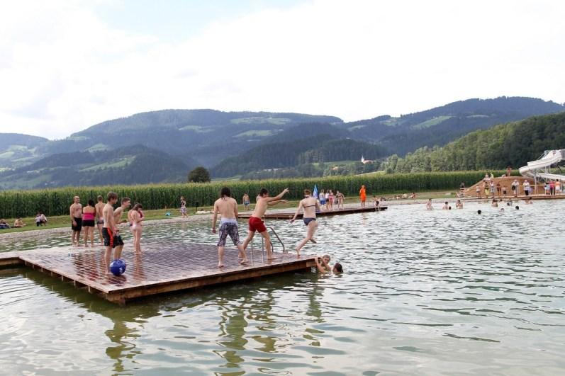 Naravna kopališča v Sloveniji: naravno kopališče v Green Resortu