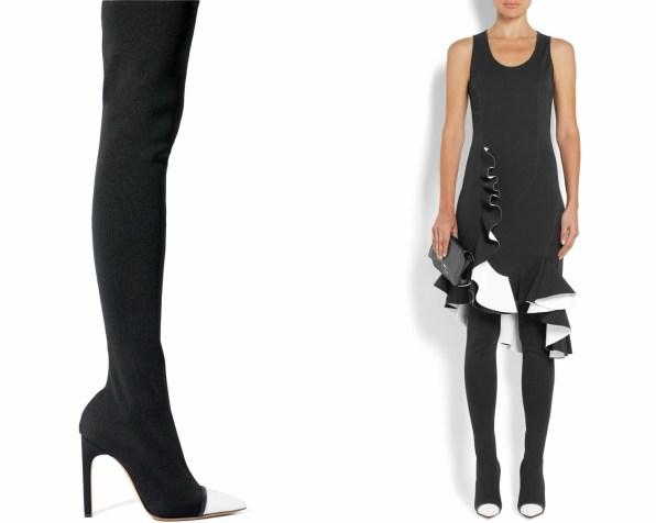 Najlepši škornji čez kolena za jesen in zimo 2017: Givenchy