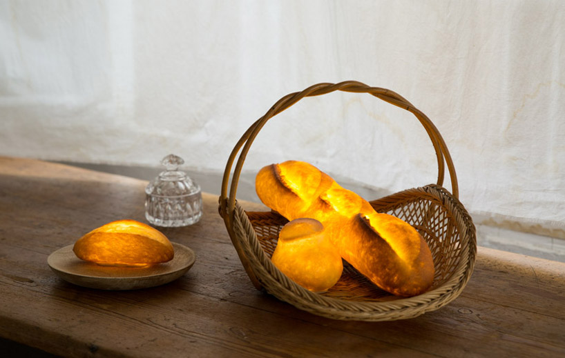 Pampshade: svetilke iz pravega kruha