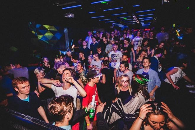 Silvestrovanje v klubu K4 (Foto: Petra Švajger)