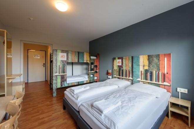 Druzinska soba v A&O HOTELS and HOSTELS .