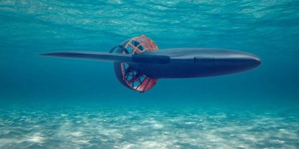 Podvodni skuter Aquajet H2 za podvodne uživače