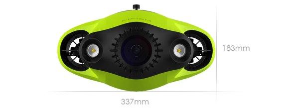 Podvodni dron Fifish P3 – naj se poletje že začne!
