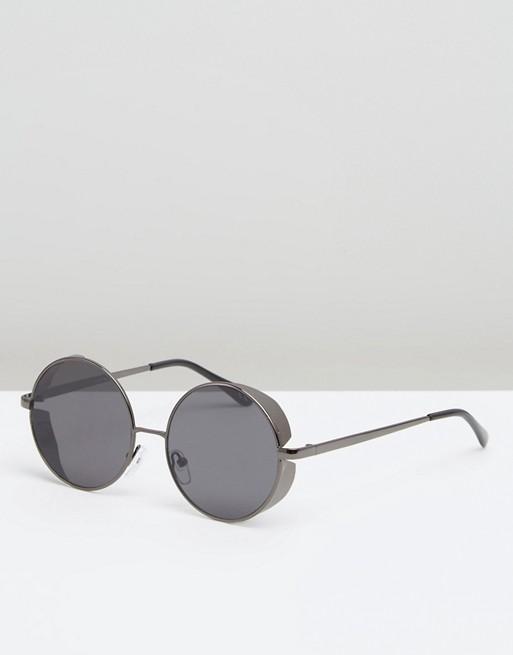 Moška modna sončna očala 2018: okrogla vintage sončna očala, Asos