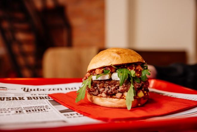 John Goat burger