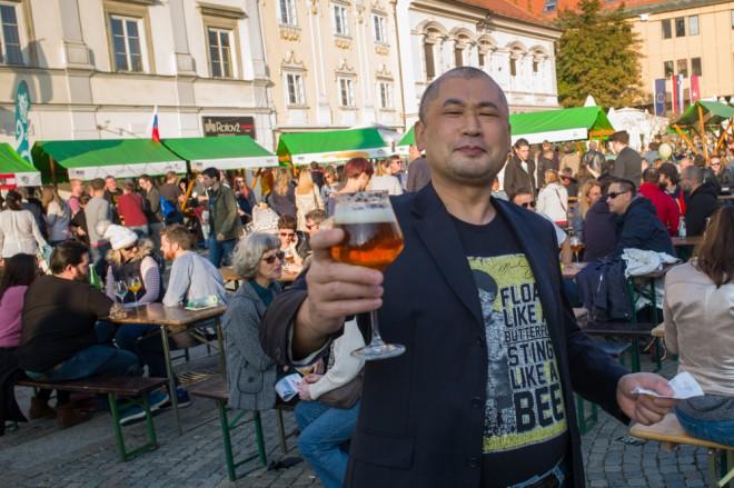 Na Marko Beer Festu Ljubljana boste lahko okusili raznovrstna piva.