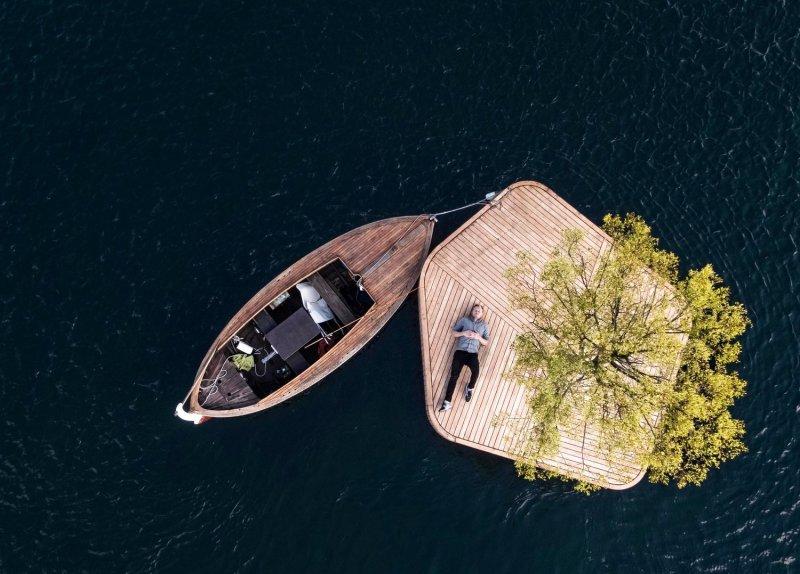 Plavajoča ploščad Ø1
