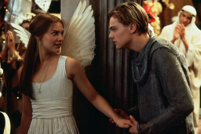 Claire Danes in Leonardo DiCaprio
