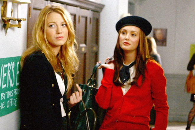 Blake Lively in Leighton Meester