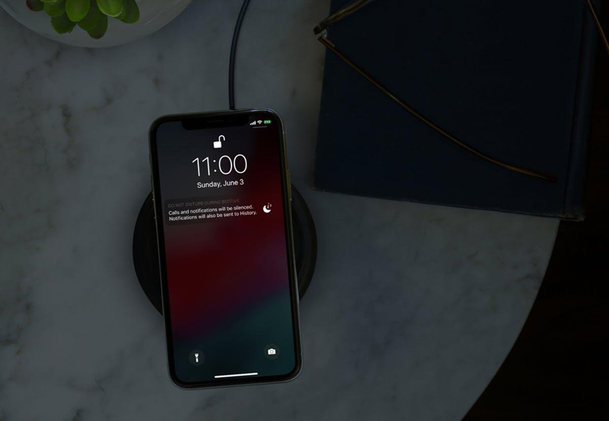 Ne pustite svojemu telefonu, da vas moti med spanjem.