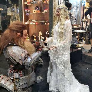 Galadriel in Dwarf, Gospodar prstanov