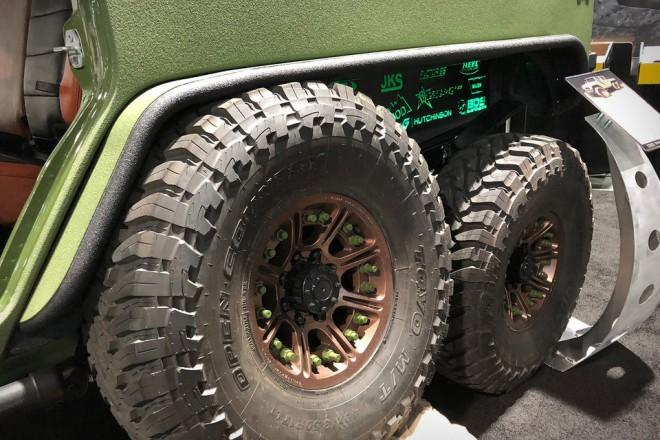 Bruiser Jeep Wrangler 6X6