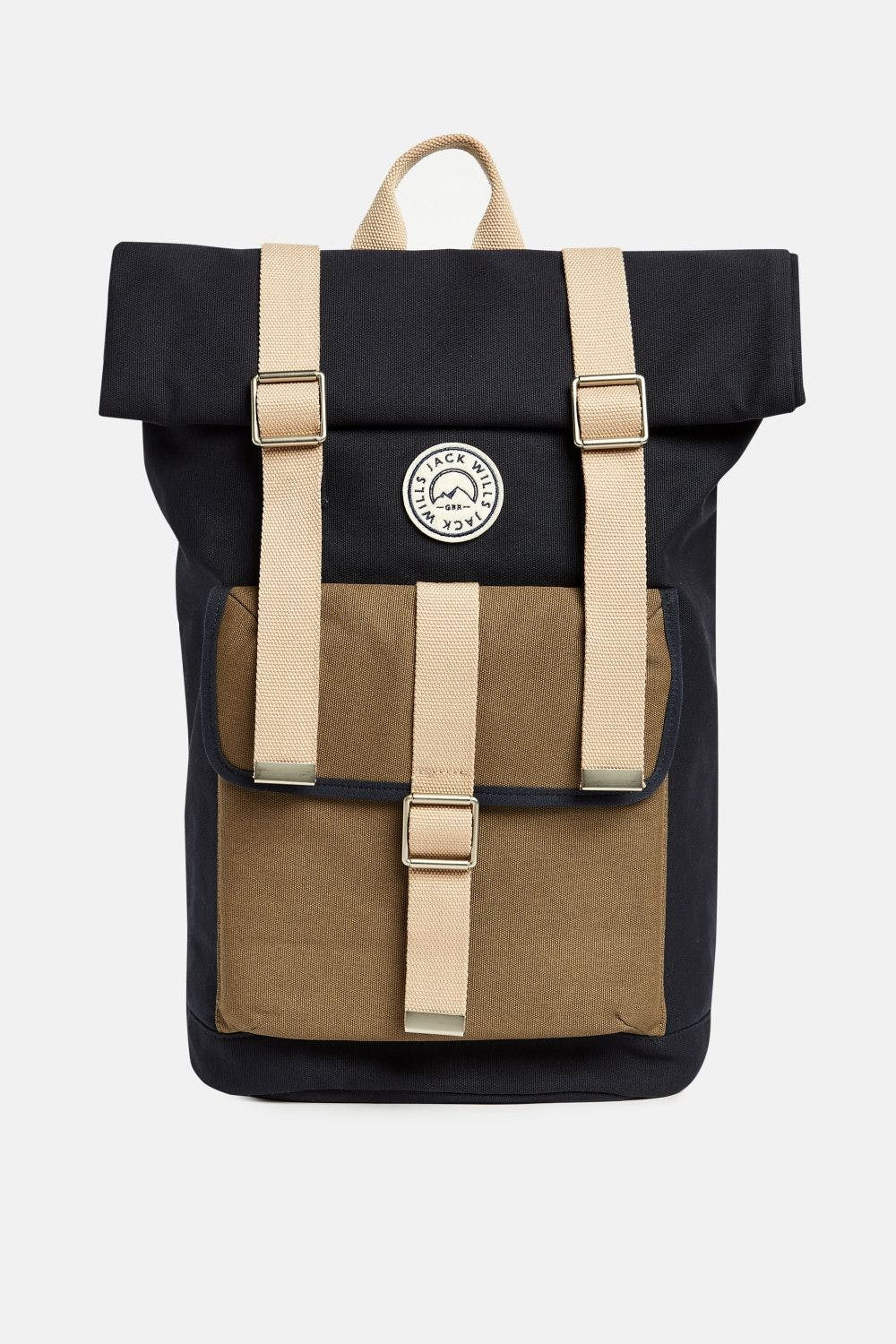Jack Wills Asbdown Roll Top Backpack