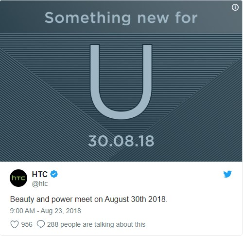 Kaj nam pripravljajo pri HTC-ju?