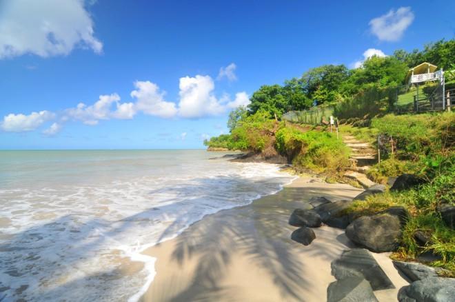 Sveta Lucija, Karibi