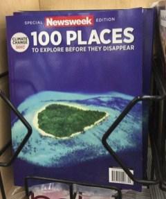 100 krajev, ki jih morate obiskati, preden izginejo.