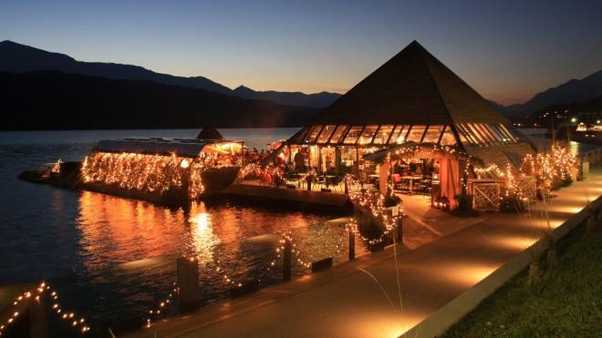 Christbaumwald im See, Milštatsko jezero, Avstrija