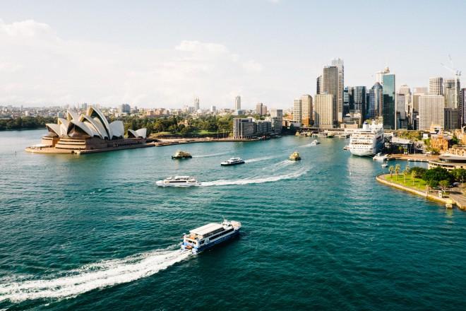 V Sydneyu trenutno vlada poletje