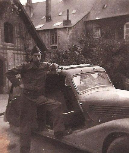 """""""Moj dedek je ukradel avtomobil od nacistov."""""""